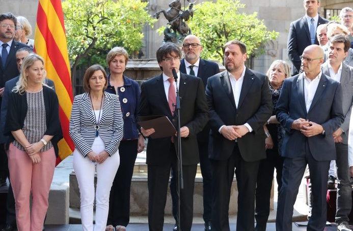 El president anuncia que el referèndum es farà l'1 d'octubre (09/06/2017)